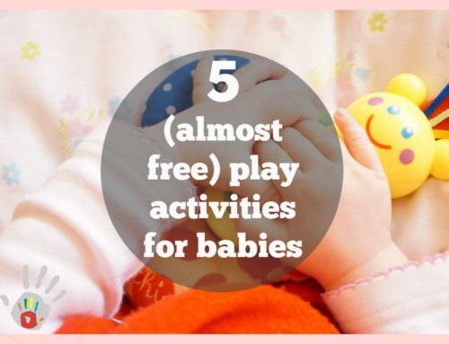 My fave 5 (almost free) play activities for a 10 month old  ;)