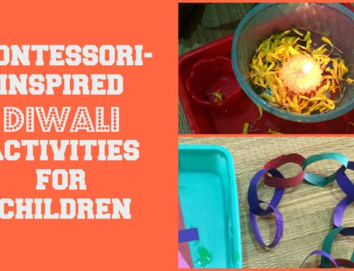 Montessori-inspired Diwali activities for Toddlers & Preschoolers! (with FREE printables!)