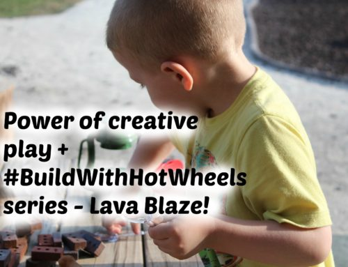 Power of creative play + #BuildWithHotWheels Series – Lava Blaze